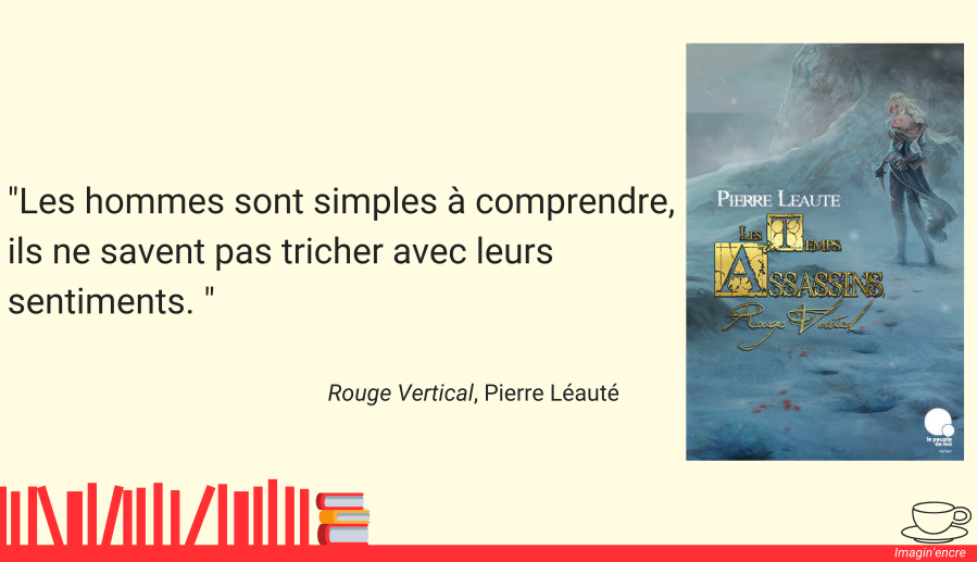 Lecture - Rouge vertical de Pierre Léauté