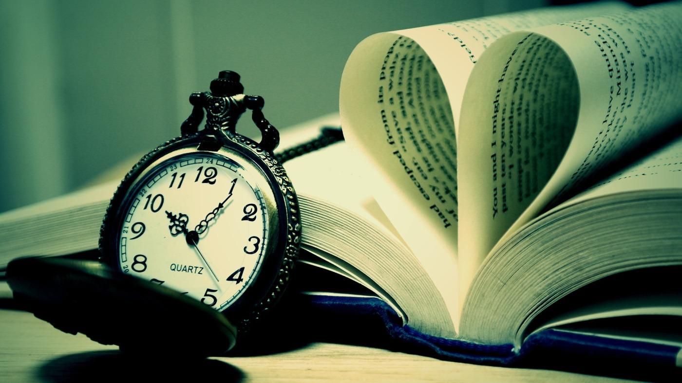 Le temps du livre / image Pixabay