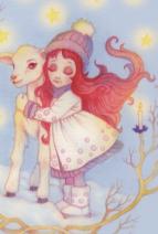 Sélène et la roue de l'année - extrait illustré