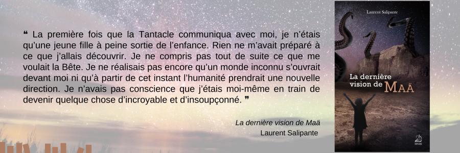 La dernière vision de Maä - Laurent Salipante - Imagin'encre