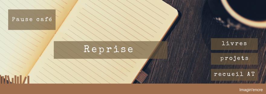 Pause café juin 2020 – Reprise - livres, projets, recueil AT